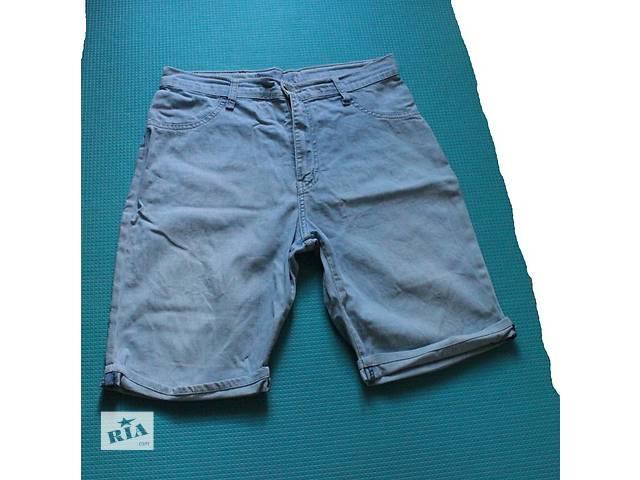 продам Джинсовые шорты с высокой талией MACHINE Jeans бу в Киеве