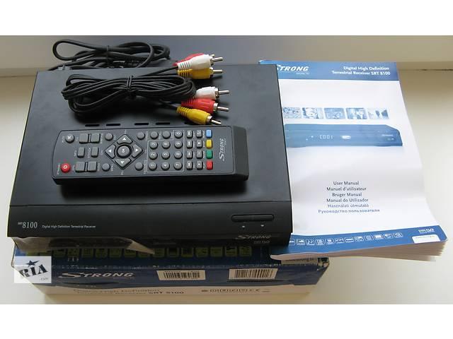 продам Эфирный цифровой DVB-T ресивер Strong SRT 8100 PVR бу в Киеве