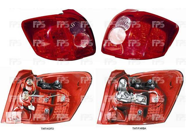 FP 7016 F4-E Фонарь задний правый на Toyota Auris, Тойота Аурис 07-09- объявление о продаже  в Києві
