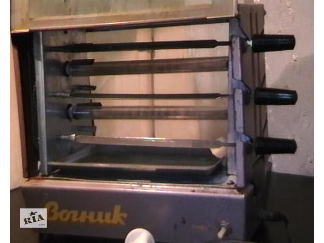 продам электро шашлычница вогник бу в Запорожье