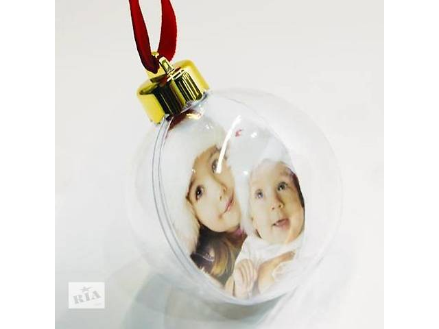 Ёлочные игрушки с Вашим логотипом или фотографией- объявление о продаже  в Симферополе