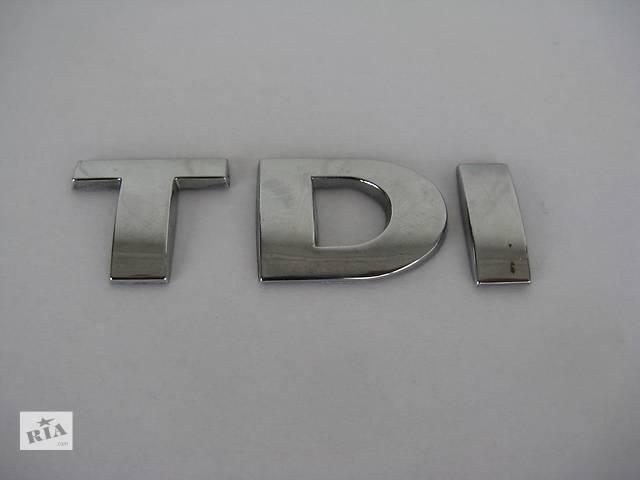 бу Емблема TDI 25 мм для Volkswagen в Львове