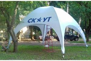 Торгові палатки, тенти і комплектуючі