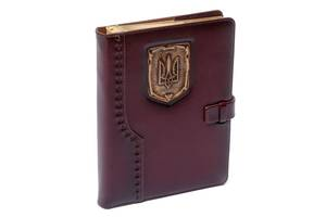 Ежедневник Герб BST 260154 А5 15х21 см. коричневый