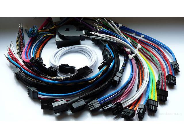 купить бу Flexo pet techflex кабельная оплетка (от -39 до 1250С).Змеиная кожа.Сетка для кабеля купить в Киеве. в Киеве