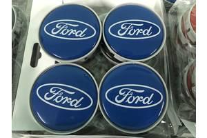 Ford Custom 2013↗ гг. Колпачки в титановые диски 55 мм V3 (4 шт)
