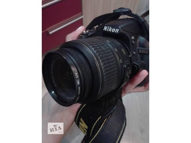 купить бу Фотоаппарат Nikon D 3100 + сумка и зарядное устройство в Виннице