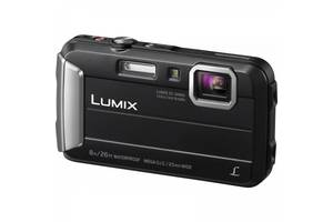 Фотоапарат PANASONIC LUMIX DMC-FT30 Black (DMC-FT30EE-K)