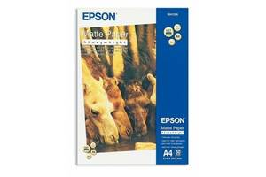Фотобумага EPSON Matte Paper-Heavyweight, 50л. (C13S041256)