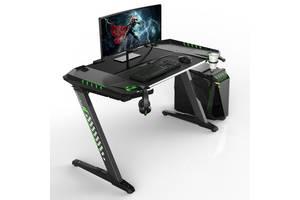 Геймерский игровой компьютерный прямой стол ZEUS™ Valtron Z2