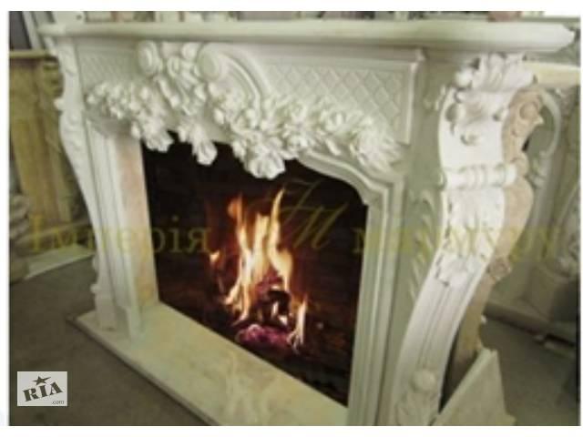 продам Продам белый мраморный камин из камня Тассос. бу в Киеве