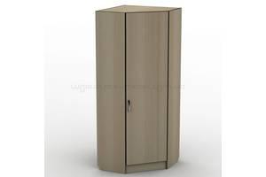 Угловой шкаф гардероб для одежды с зеркалом Тиса ШОУ-2 ШхГхВ 700х700х1660 мм