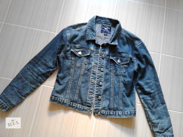 Фирменная джинсовая курточка, хлопок- объявление о продаже  в Полтаве