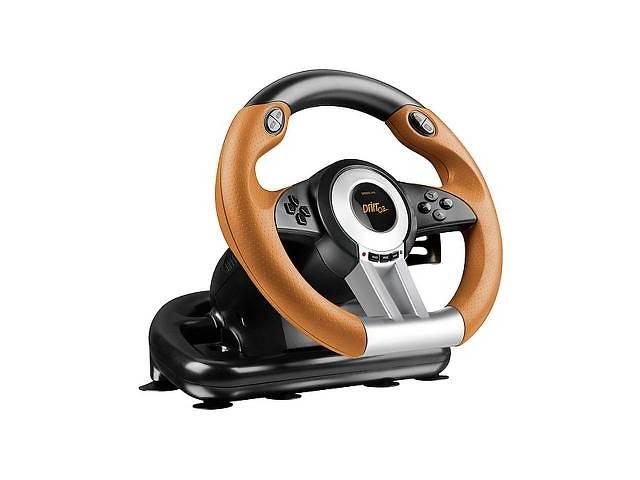 купить бу Руль Speedlink Drift O.Z. Racing Wheel PC (SL-6695-BKOR-01) в Киеве