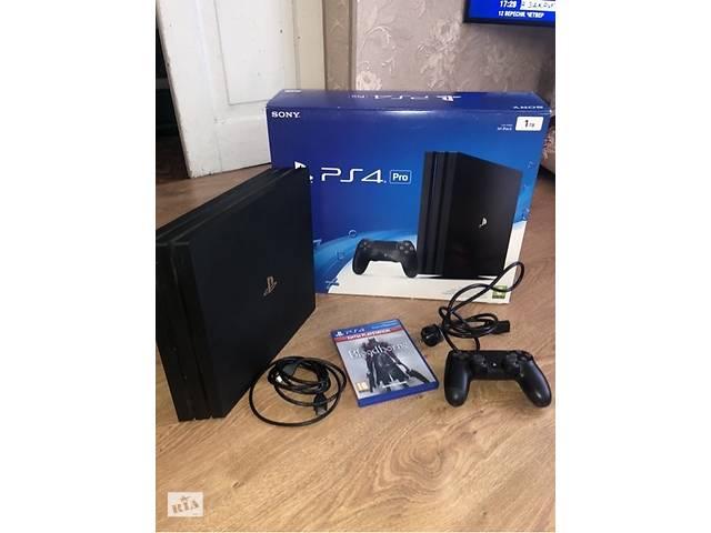 продам Sony Playstation 4 PRO 1TB бу в Конотопі