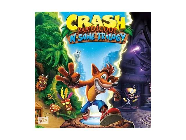 продам Игра SONY Crash Bandicoot N'sane Trilogy %5bBlu-Ray диск%5d PS4 (88222EN) бу в Киеве