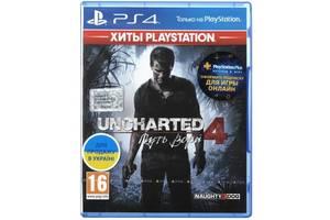 Игра Uncharted 4: Путь вора (PS4, Русская версия)