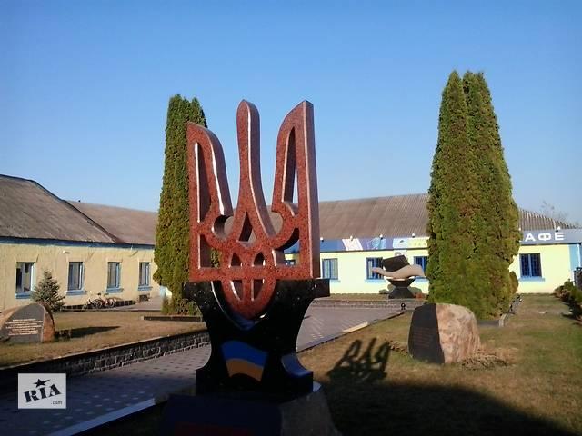 продам Виготовлення складних фігур з граніту: Герб, літери, пам'ятники, хрести, фонтани. бу в Коростишеві