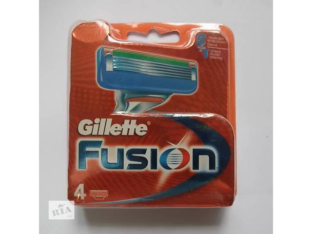 продам Gillette Fusion - 4шт бу в Львове