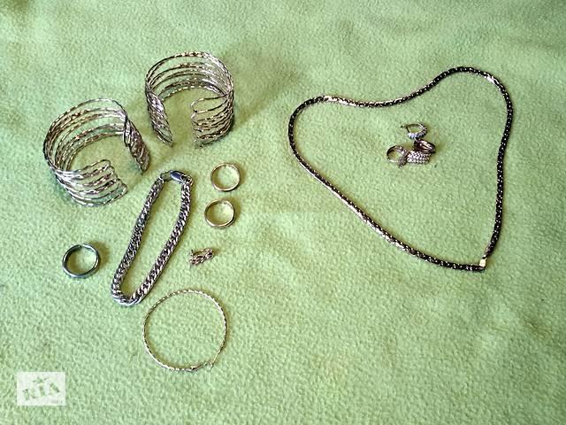 Большой лот, Xuping, XP, позолота, цепочка, кольцо, браслет и серьги.- объявление о продаже  в Киеве