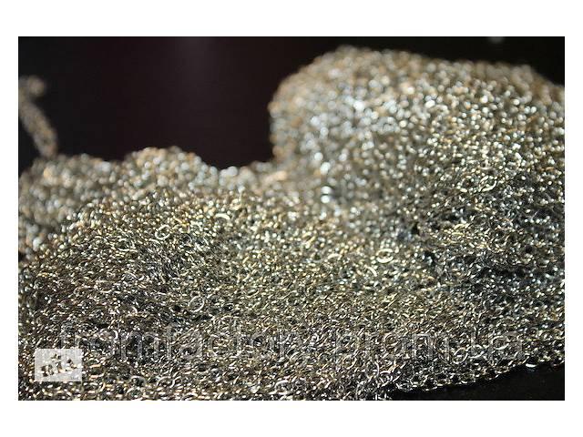 купить бу Цепочка металлическая 100см/Ø4мм (золото/серебро):Серебристая в Харькове