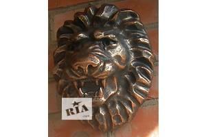 Декор для дома голова льва барельеф