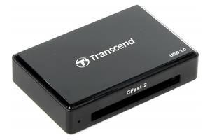 Картридер/USB-хаб Transcend TS-RDF2
