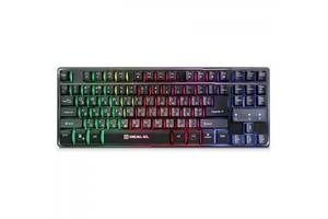 Клавиатура REAL-EL 8710 Gaming TKL Backlit, black