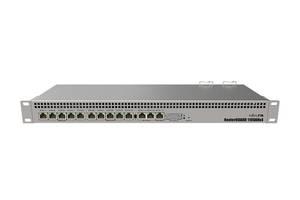 Маршрутизатор MikroTik RB1100AHx4 (4x1,4GHz/1Gb, ARM 32Bit, 13xGE, PoE In)