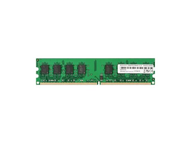 бу Оперативная память для компьютера DDR2 2GB 800 MHz eXceleram (E20101A) в Києві
