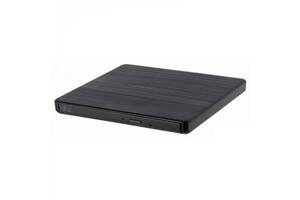 Внешний привод DVD+/-RW Hitachi-LG GP60NB60 USB Ext Slim Black