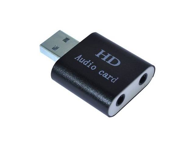 бу Звуковая плата Dynamode USB-SOUND7-ALU black в Киеве
