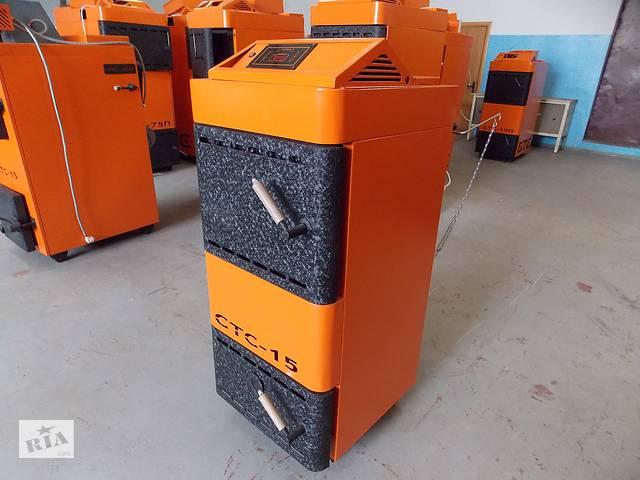 Продам заводской котел на дровах, угле до 150м2 на 15кВт- объявление о продаже  в Виннице