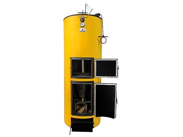 купить бу Твердотопливный котел длительного горения Буран 20У+ГВС (двухконтурный). Линейка универсальных котлов в Киеве