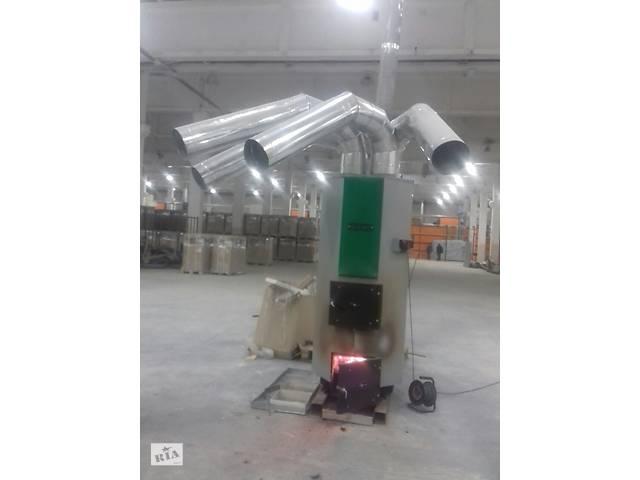 купить бу Твердопаливний котел (теплогенератор) АДЕС ТГ-35 кВт в Луцьку