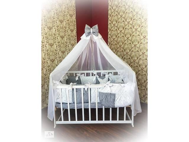бу Детское постельное белье в кроватку ТМ Bonna Elite Серое в звездочку в Одессе