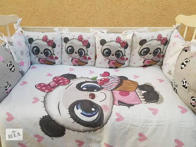 бу Детское постельное бельё в кроватку ТМ Bonna Принт (без балдахина или с балдахином) в Одессе
