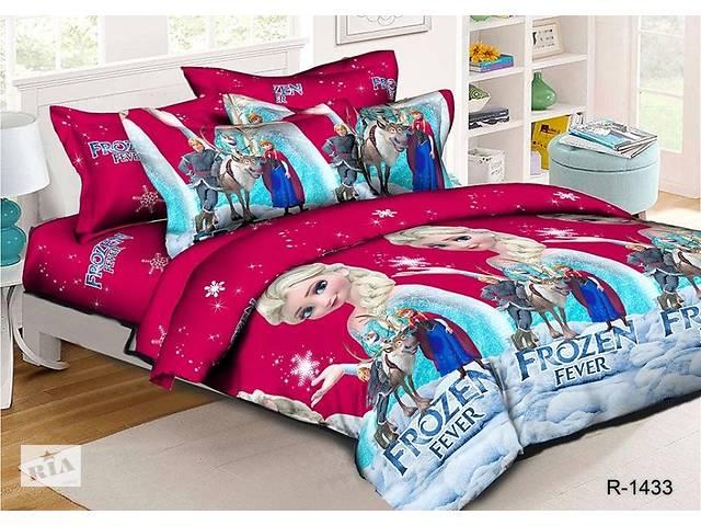 купить бу Полуторный подростковый комплект постельного белья из ранфорса. в  Киеве c6265d5b613ee