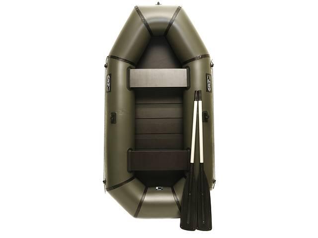 купить бу Надувная резиновая лодка Grif boat GL-240S для рыбалки и охоты на воде (220607) в Киеве