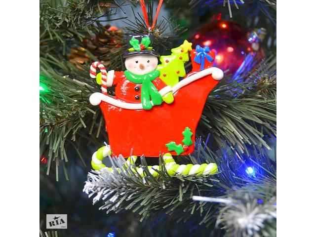 купить бу Новогодняя подвеска Сани SKL11-208868 в Одессе