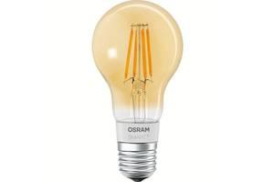 Светодиодная лампа LED Osram SMART LED Е27 5.5-60W 2700K 220V A60 FILAMENT GOLD Bluetooth 4058075174481