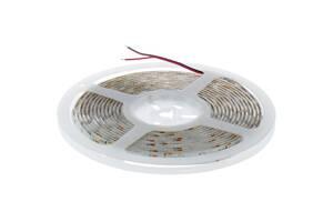 Светодиодная лента, 4.8Вт/60LED/м, свет холодный белый, IP65 Wolta 13773395