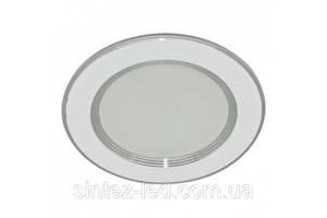 Светодиодная панель ZL 2006 7W 4500K кругл. серебро  Код.59527
