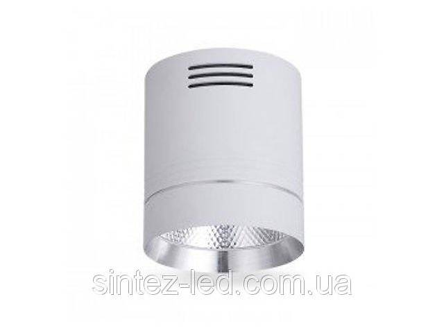 продам Светодиодный cветильник накладной AL542 18W 4000K цилиндр белый/хром Код.59429 бу в Дубні