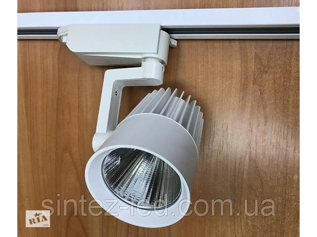 купить бу Светодиодный трековый светильник SL-4003 30W 3000К белый Код.58446 в Киеве