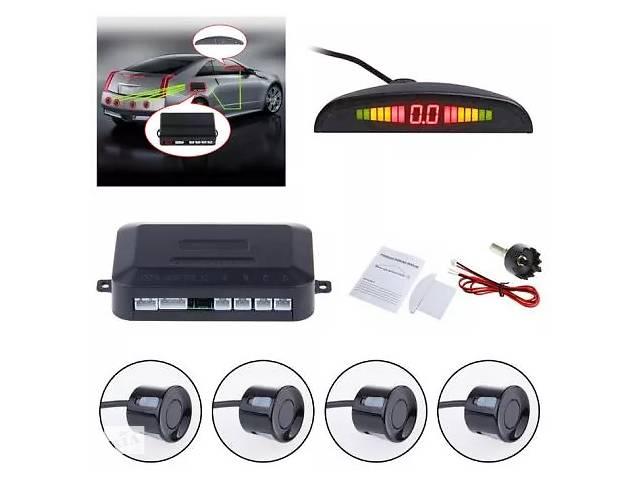купить бу Парктроник, парковочный радар на 4 датчика LED дисплей (черный, серый) в Переяславі-Хмельницькому