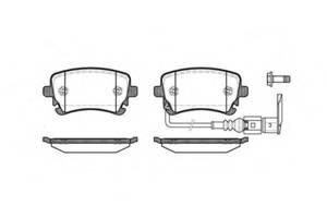 Нові Гальмівні колодки комплекти Volkswagen T5 (Transporter)