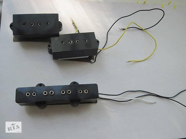 бу Продаю/Меняю P/J Сэт Бас-Гитарных винтажных звукоснимателей Ibanez JAPAN. в Славянске
