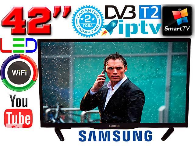 бу 4K Телевізор 42& quot; Samsung SmartTV LED! 3840 x 2160, IPTV, Android, T2, WIFI, USB в Дніпрі (Дніпропетровськ)