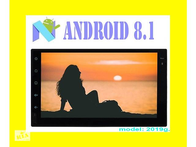 бу Магнитола 2din Pioneer Pi-707 GPS Android 8.1 + WiFi + 4Ядра в Киеве